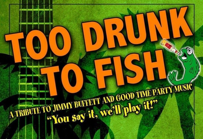 Too Drunk to Fish logo